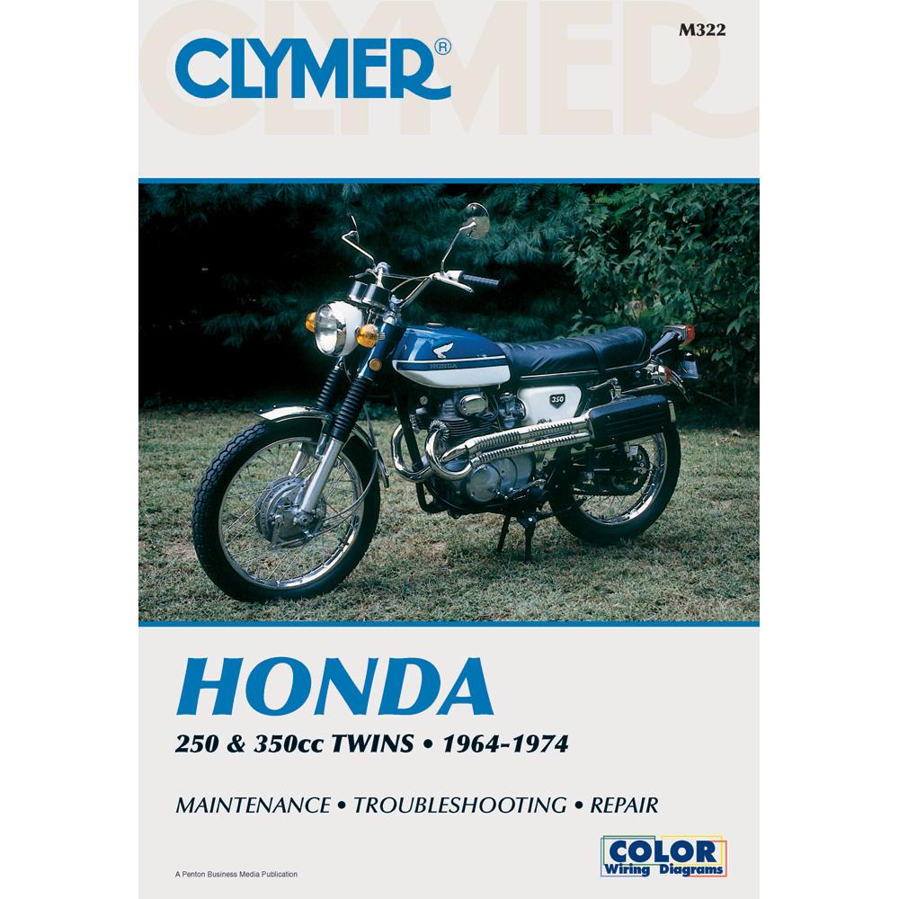 Clymer Honda 250cc & 350cc Twins (1964-1974)