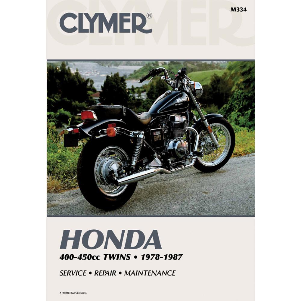 Clymer Honda CB/CM400-450 & CMX450 (1978-1987)