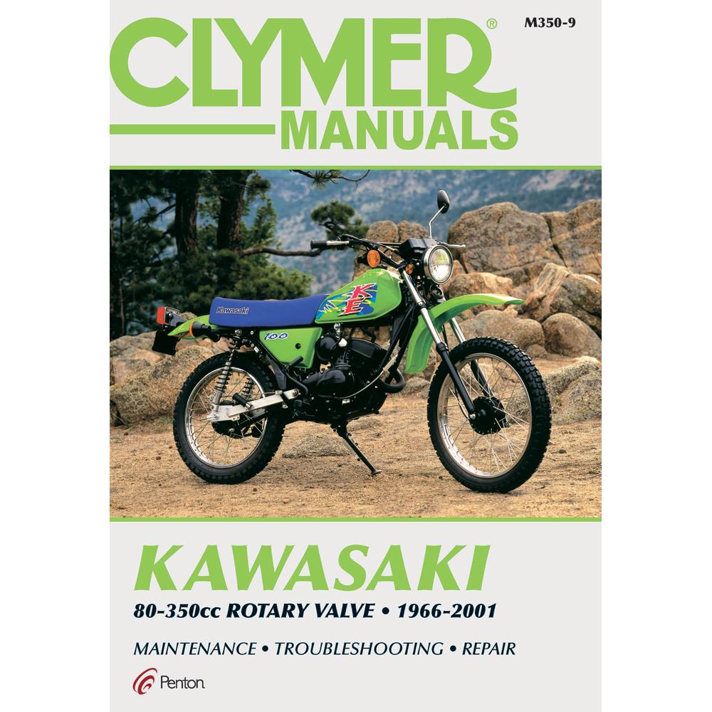 Clymer Kawasaki 80-350cc Rotary Valve (1966-2001)