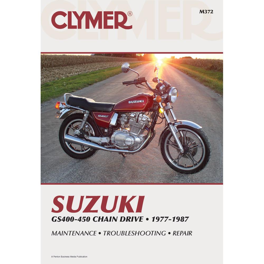 Clymer Suzuki GS400-450 Chain Drive (1977-1987)