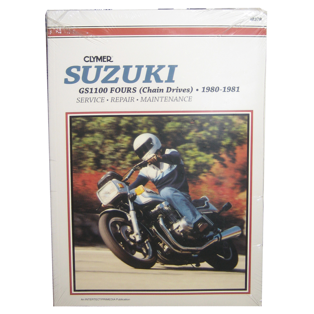 Clymer Suzuki GS1100 Fours (Chain Drives) (1980-1981)