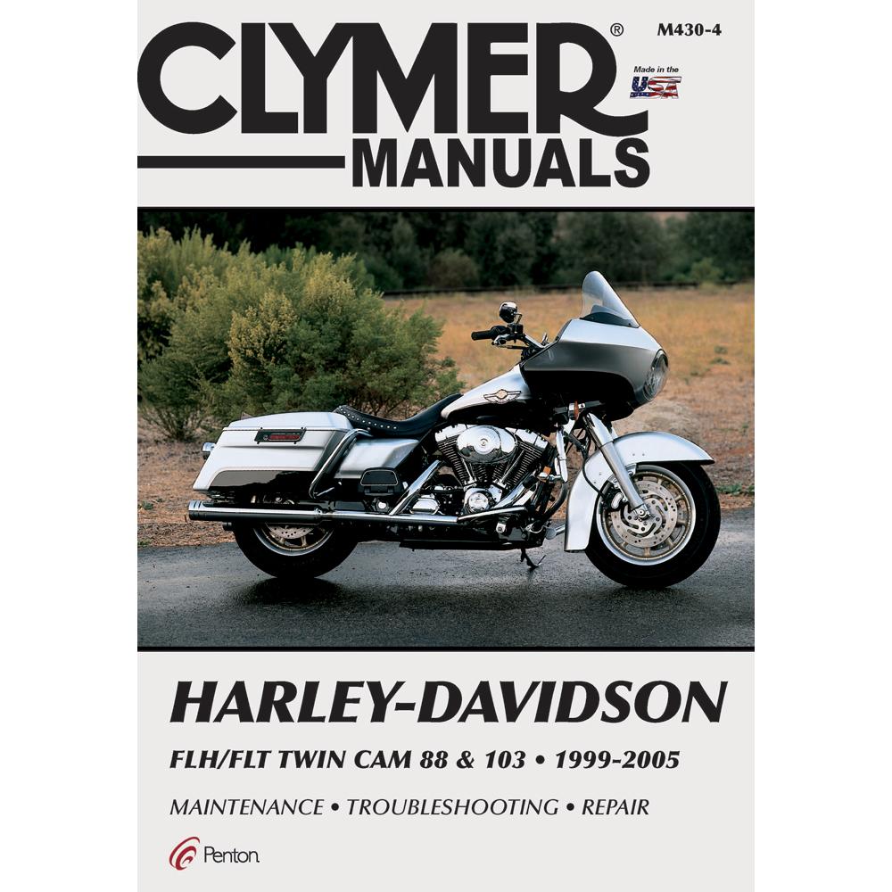 Clymer Harley-Davidson FLH/FLT Twin Cam 88 & 103 (1999-2005)