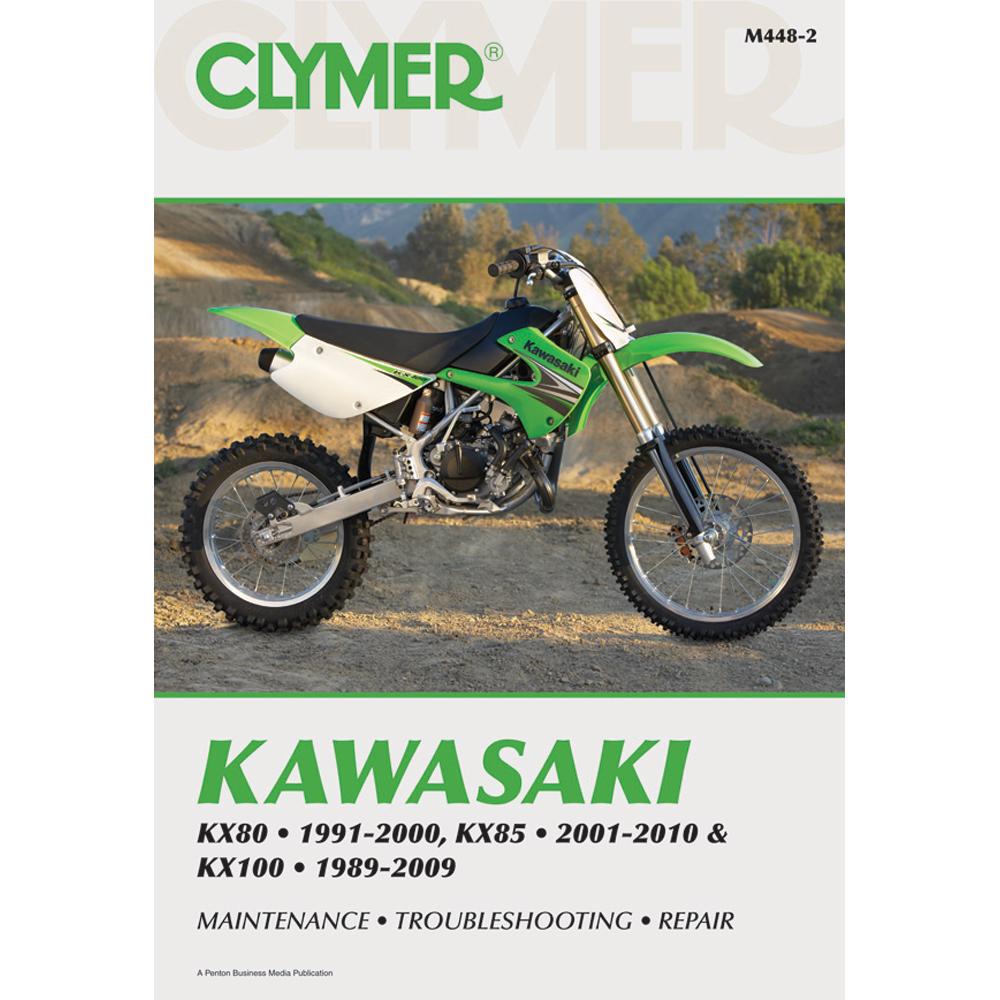 Clymer Kawasaki KX80 (1991-2000) KX85 (2001-2010 & KX100 (1989-2009)