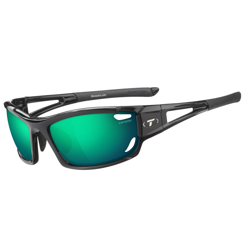 Tifosi Dolomite 2.0 Interchangeable Sunglasses - Clarion Mirror Collection - Gloss Black