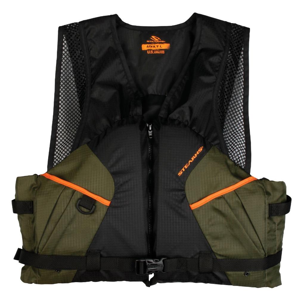 Stearns 2200 Comfort Series™ Adult Life Vest PFD - Green - XXL
