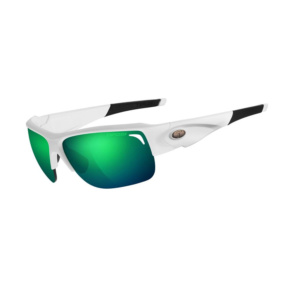 Tifosi Elder Interchangeable Sunglasses - Clarion Mirror Collection - Matte White