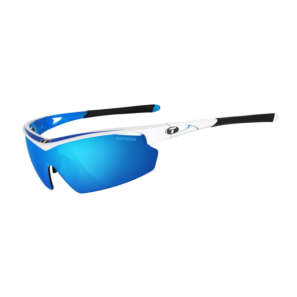 Talos Interchangeable Sunglasses - Clarion Mirror Collection - Race Blue
