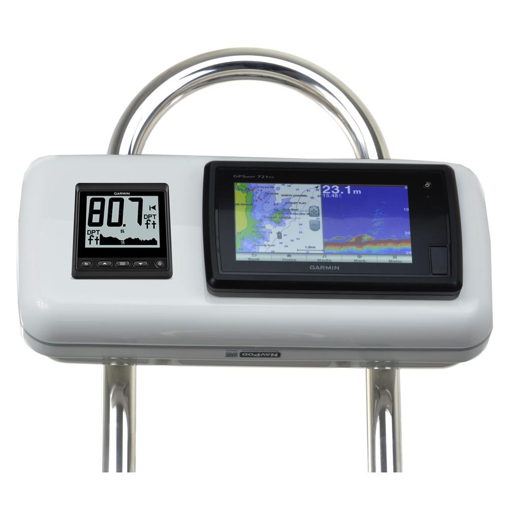 NavPod GP1511 SystemPod Pre-Cut f/Garmin 720/721/740/740s/741/721xs/741xs/70s/70dv & 1 Instrument f/9.5