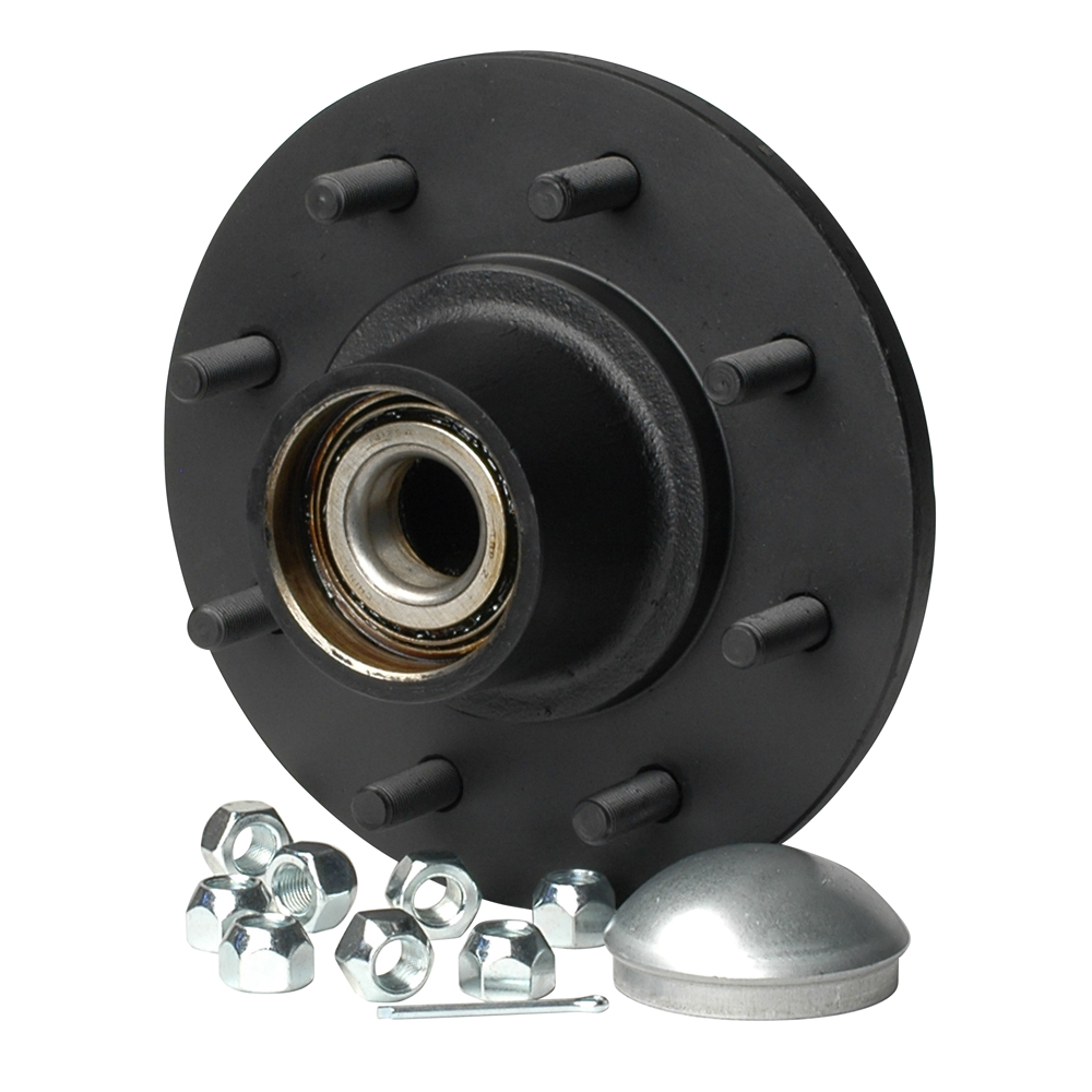 Trailer Hubs And Spindles : C e smith trailer hub kit tapered spindle quot stud