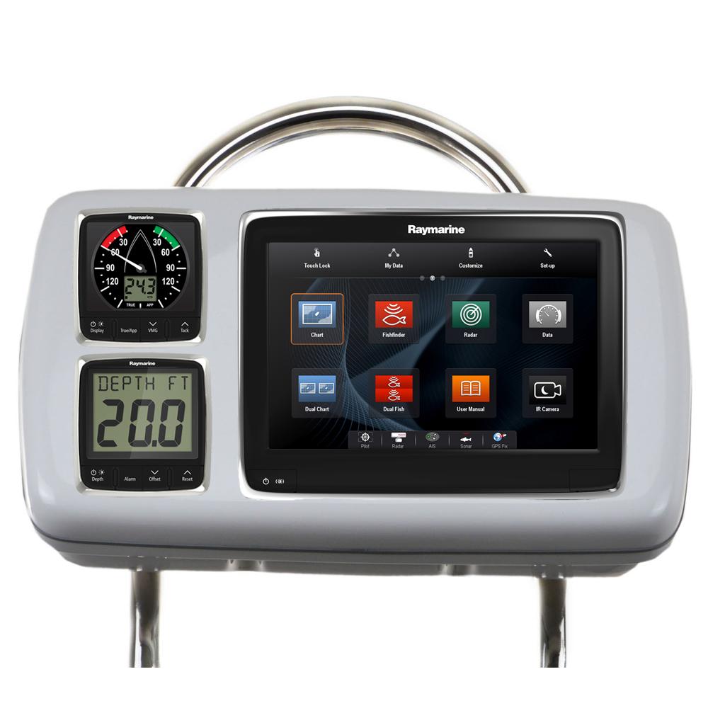 NavPod GP2080-14 SystemPod Pre-Cut f/Raymarine a95/a97/a98 & 2 Instruments f/12