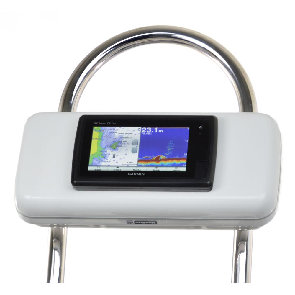 NavPod GP2521 SystemPod Pre-Cut f/Garmin 720/721/740/740s/741/721xs/741xs/70s/70dv Mounted In Center f/12