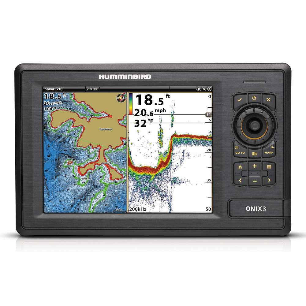 Humminbird ONIX8ci NT Combo - Non-Touch Unit
