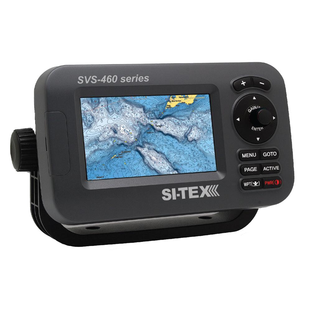 SI-TEX SVS-460C Chartplotter - 4.3