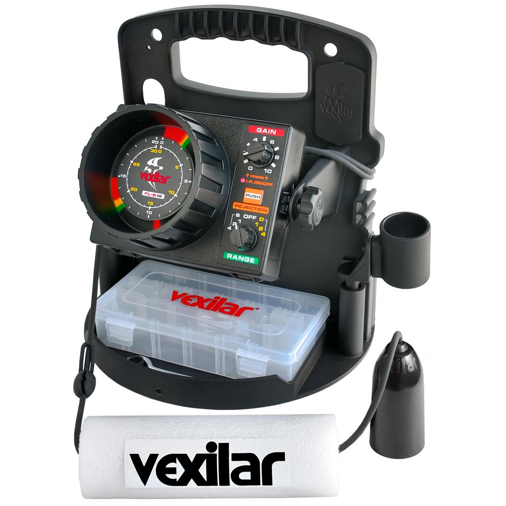 Vexilar FL-8SE Ice Pro Standard Pro Pack II w/19° Ice-Ducer