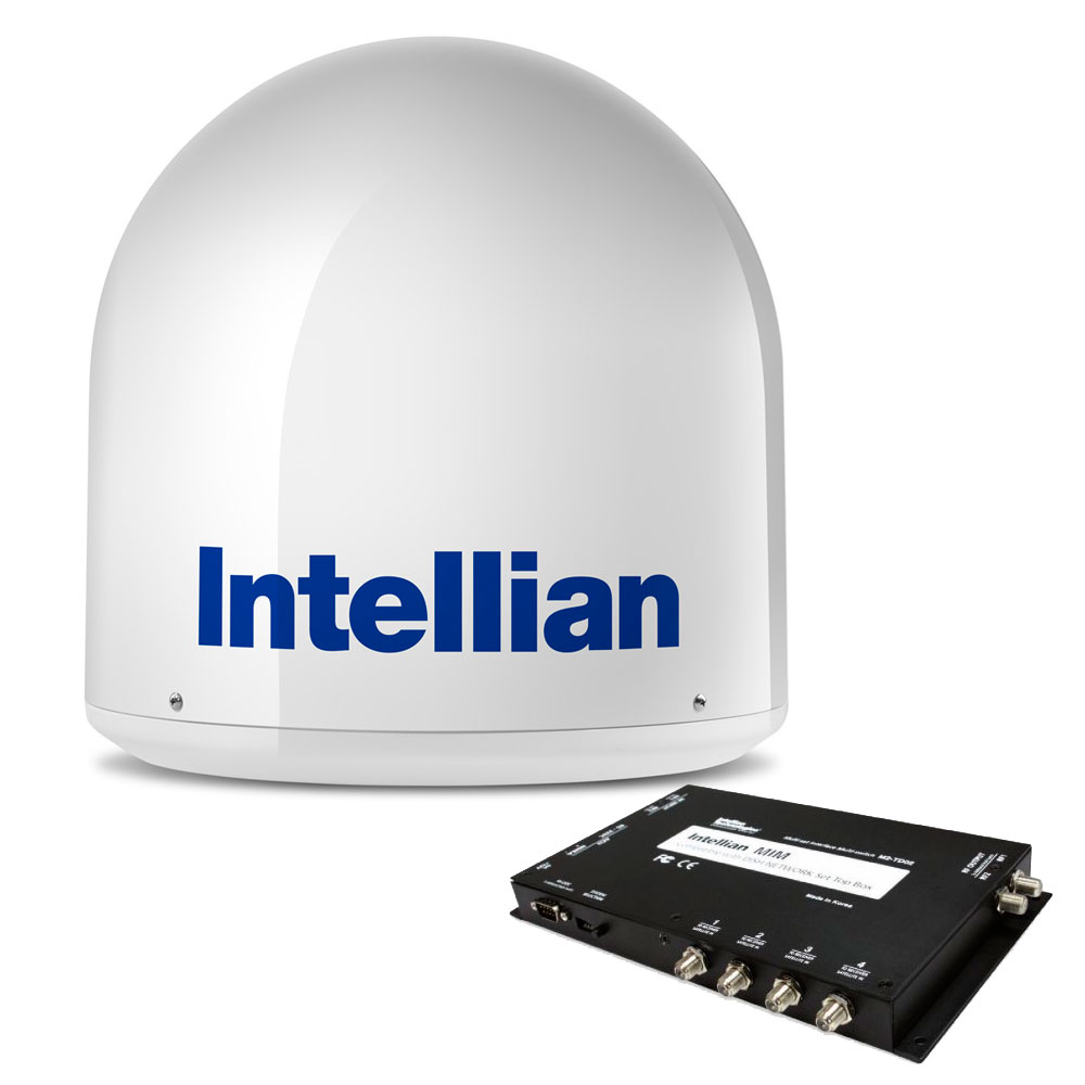 Intellian i2 US System w/DISH/Bell MIM & 15M RG6 Cable