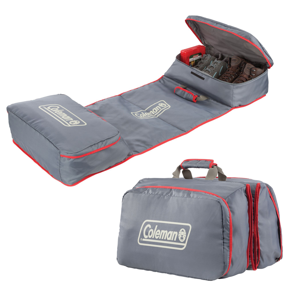 Coleman Carryall Camp Mat - Red/Grey
