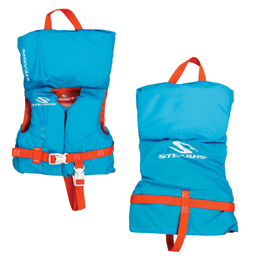 Stearns Infant Classic Nylon Vest Life Jacket - Up to 30lbs - Abstract Wave