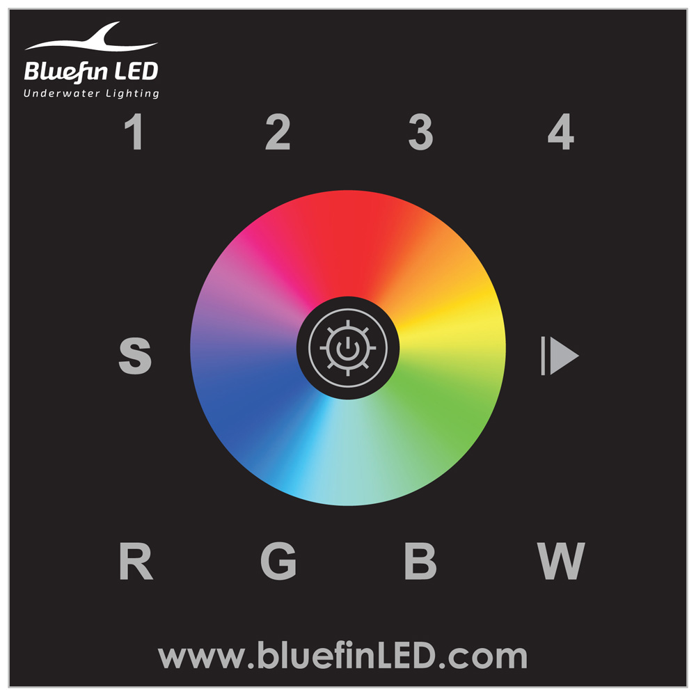 Bluefin LED DMX Controller f/Color Change Lights