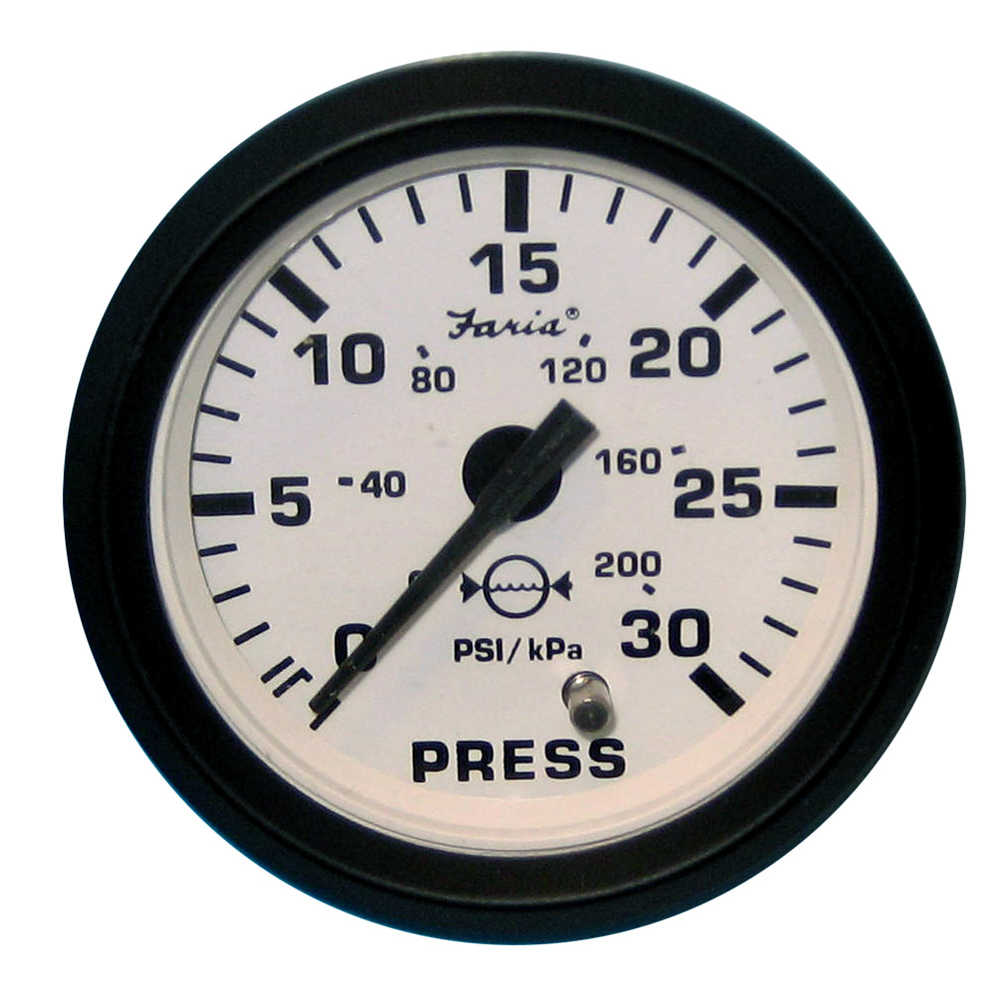 how to use mains water pressure gauge