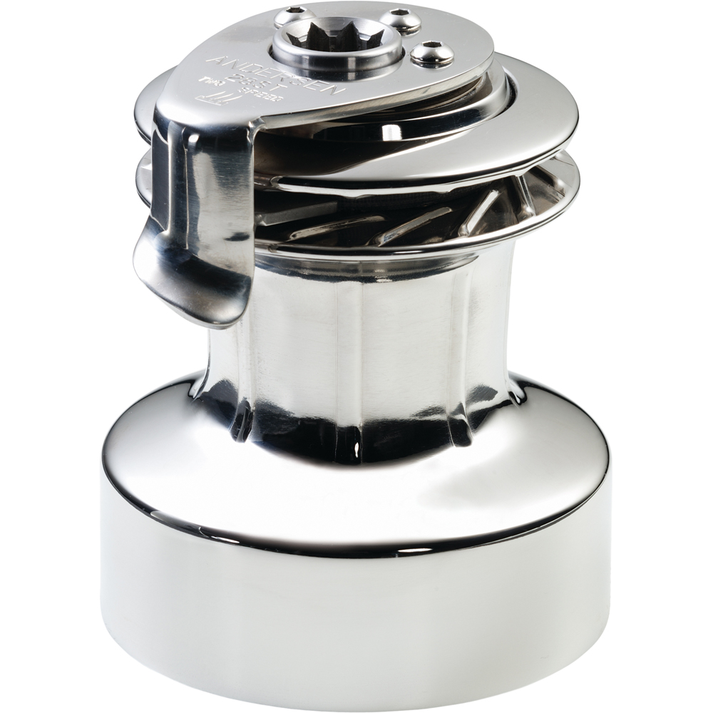 ANDERSEN 28 ST FS  - 2-Speed Self-Tailing Manual Winch - Full Stainless Steel