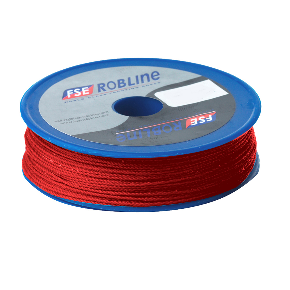 FSE Robline Waxed Tackle Yarn Whipping Twine - Red - 0.8mm x 80M