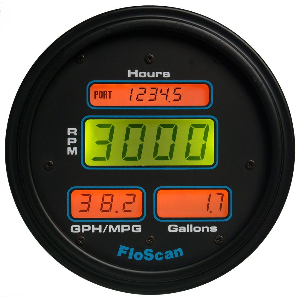 FloScan 7000-231-11 Fuel Meter - I/B, I/O - 351-550HP
