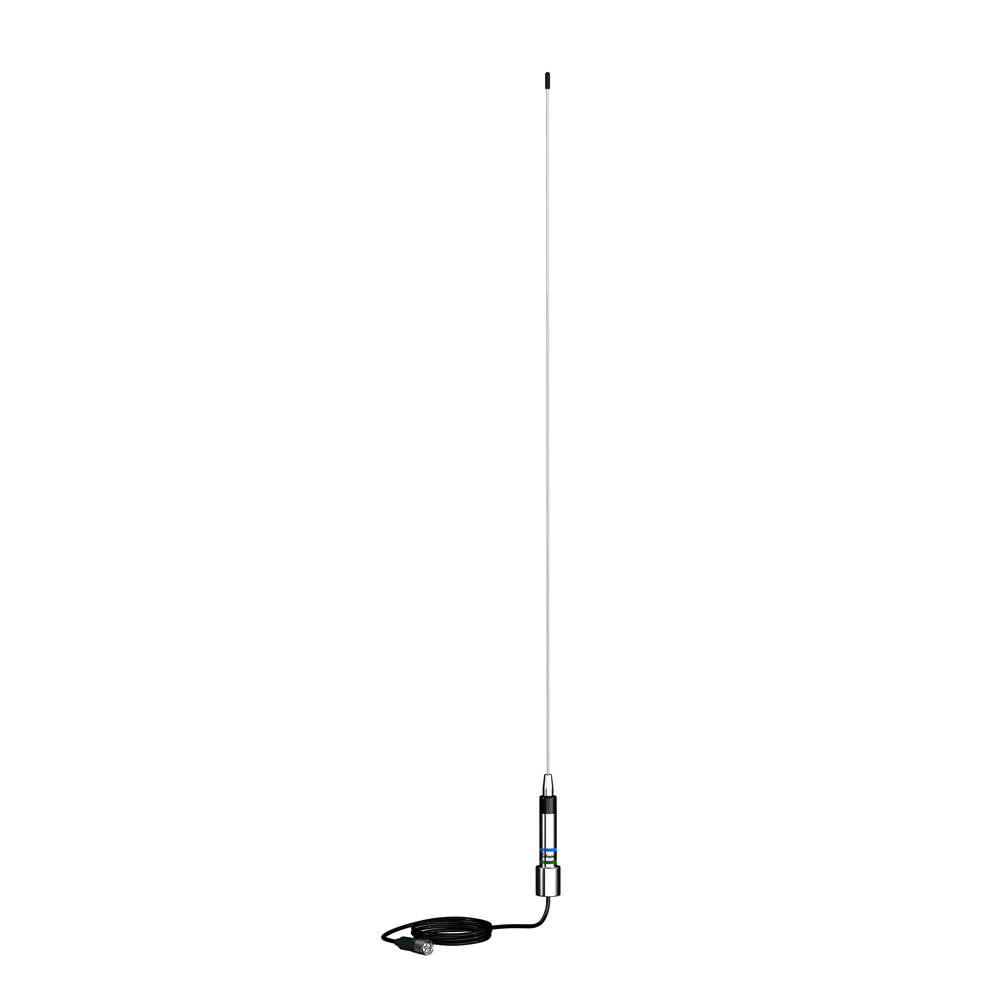 Shakespeare AM/FM Low Profile Stainless Antenna - 25