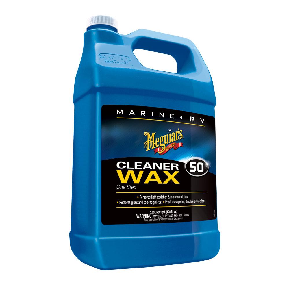 Meguiar's Boat/RV Cleaner Wax - Liquid 1 Gallon