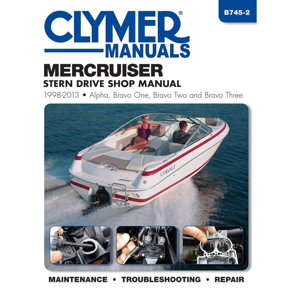 Clymer MerCruiser Alpha One, Bravo One, Two & Three Stern Drives - 1998-2013