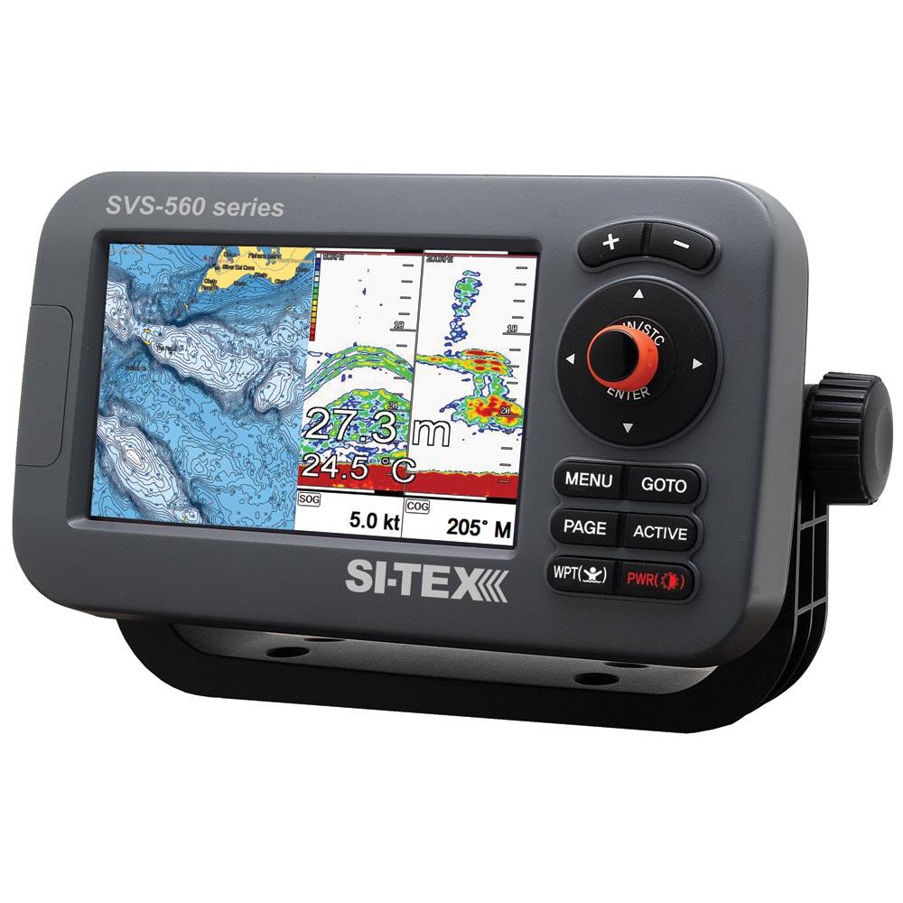 SI-TEX SVS-560CF Chartplotter - 5