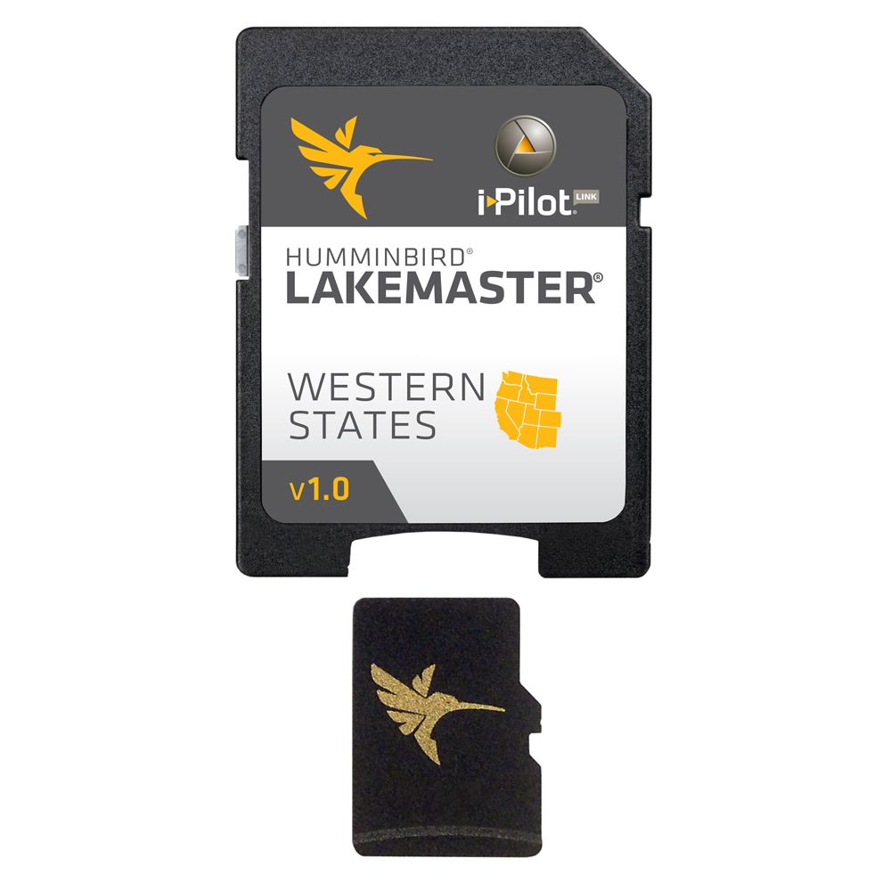 Humminbird LakeMaster Western States - MicroSD