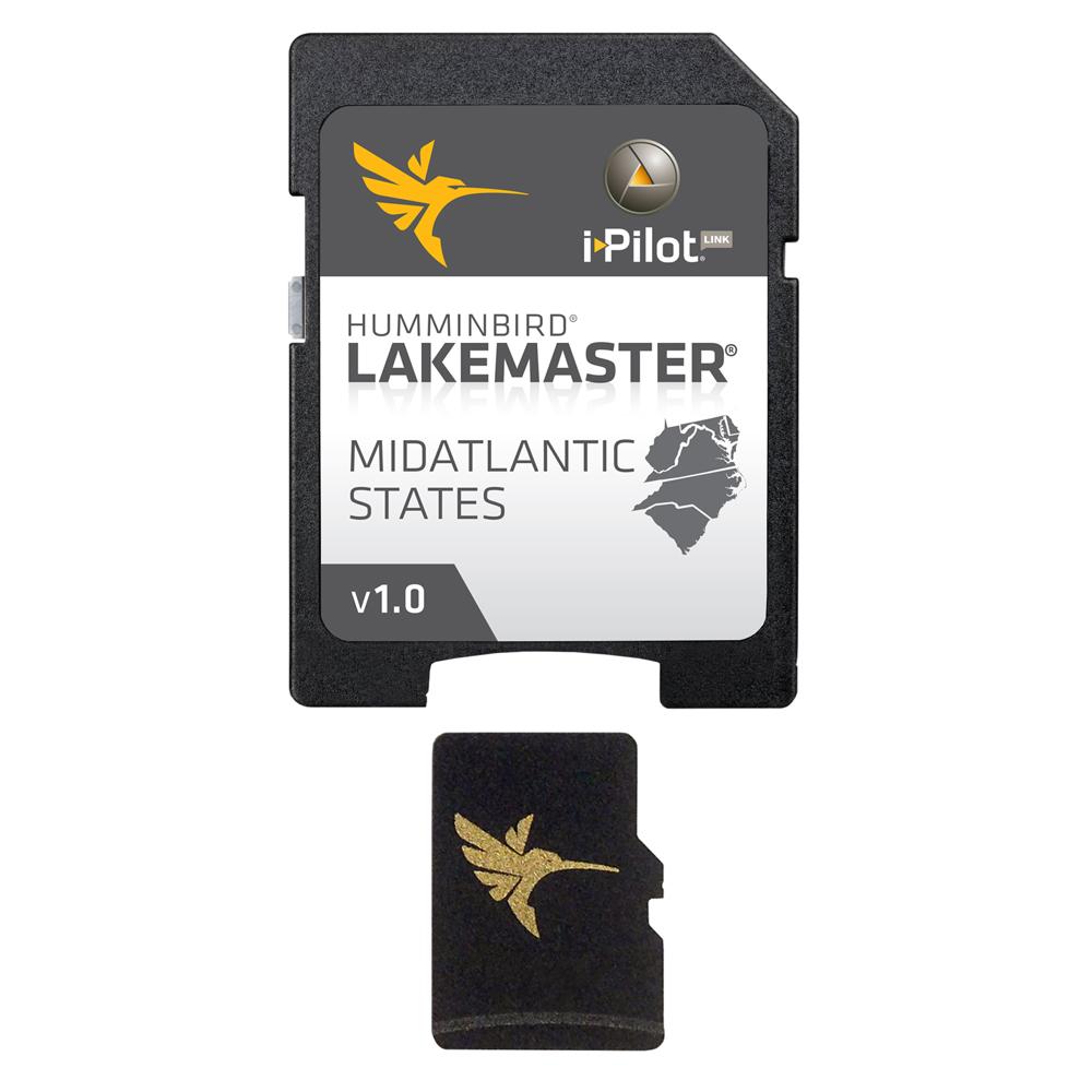 Humminbird LakeMaster Chart - MidAtlantic States - MicroSD/SD