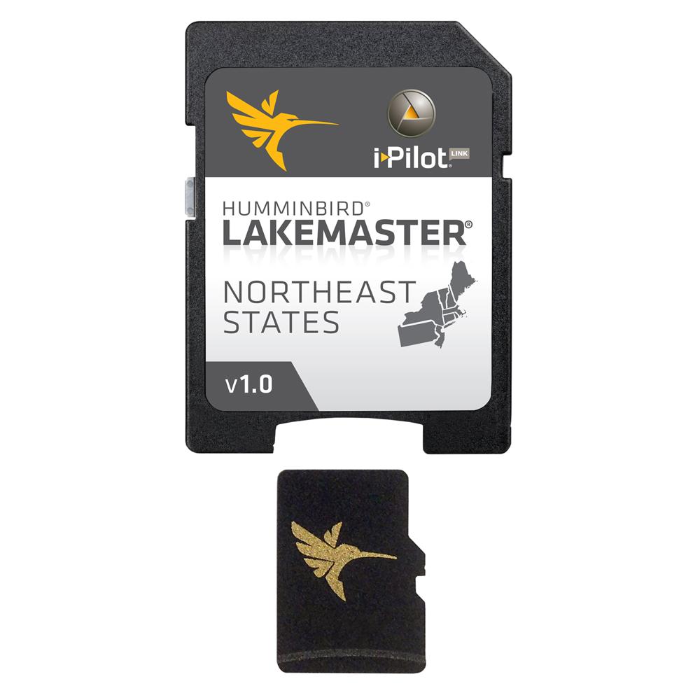 Humminbird LakeMaster Chart - NorthEast States - MicroSD/SD