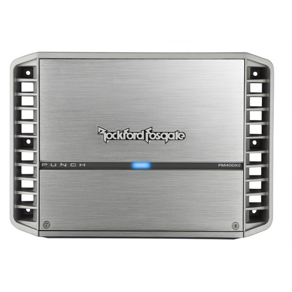 Rockford Fosgate PM400X2 Punch Series 400 Watt 2-Channel Amplifier