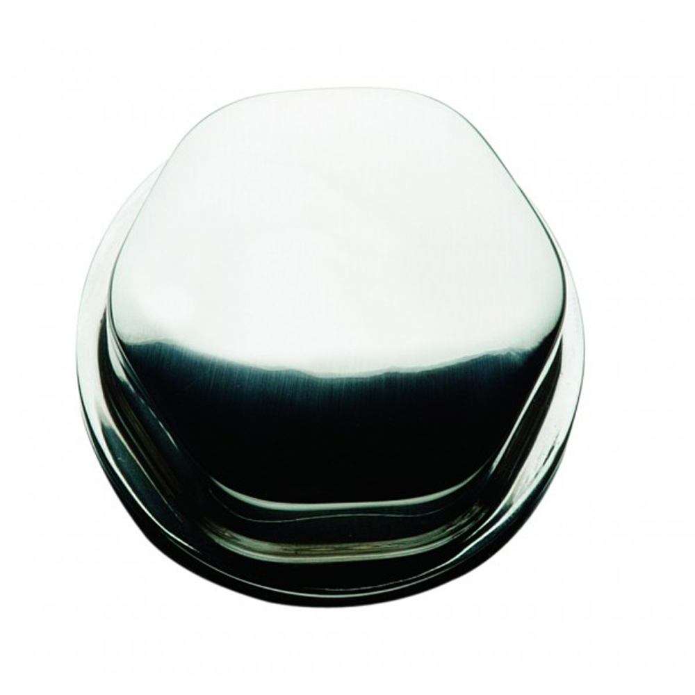 Schmitt Faux Center Nut - Chrome/Plastic - 1/2