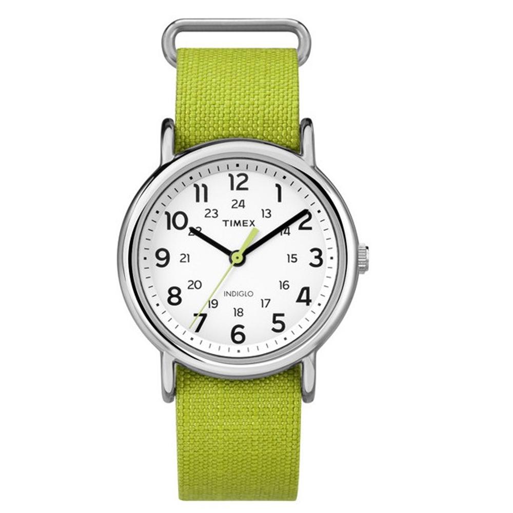 Timex Weekender Rip-Stop Watch - Cordura Lime