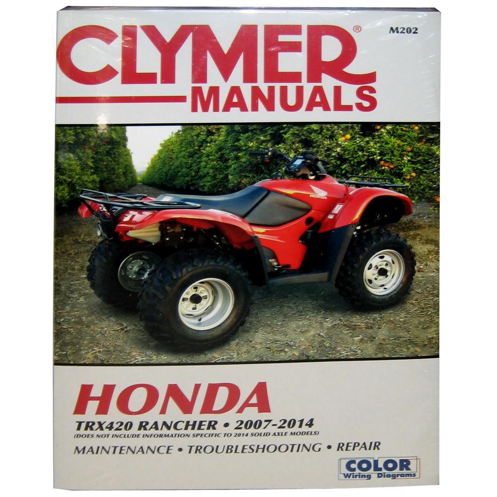 Clymer Honda TRX420 Rancher - 2007-2014