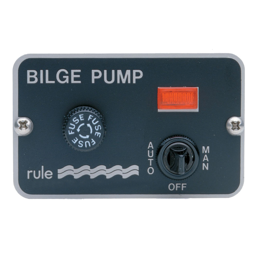 Rule Deluxe 3-Way Panel Lighted Switch f/Auto Float 24/32VDC