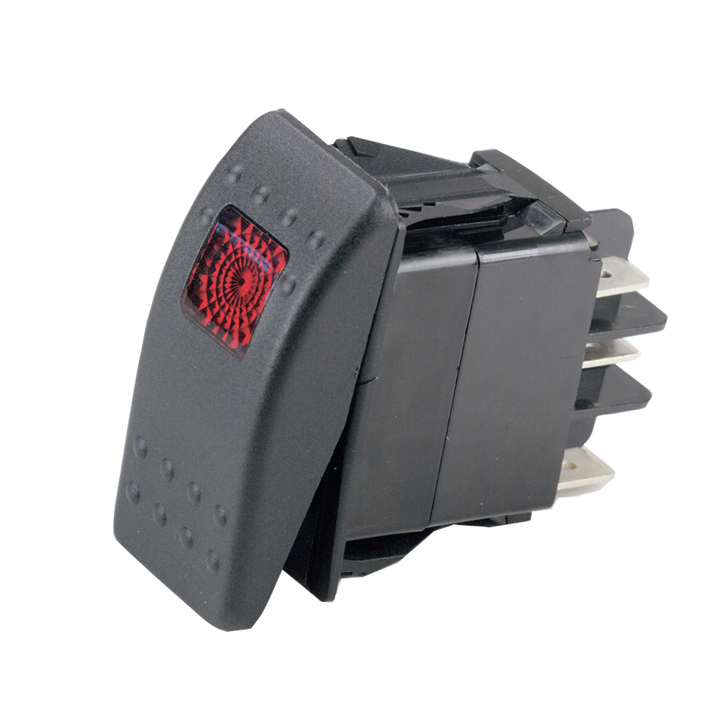 Marinco Sealed Rocker Switch w/Light - SPST On-Off