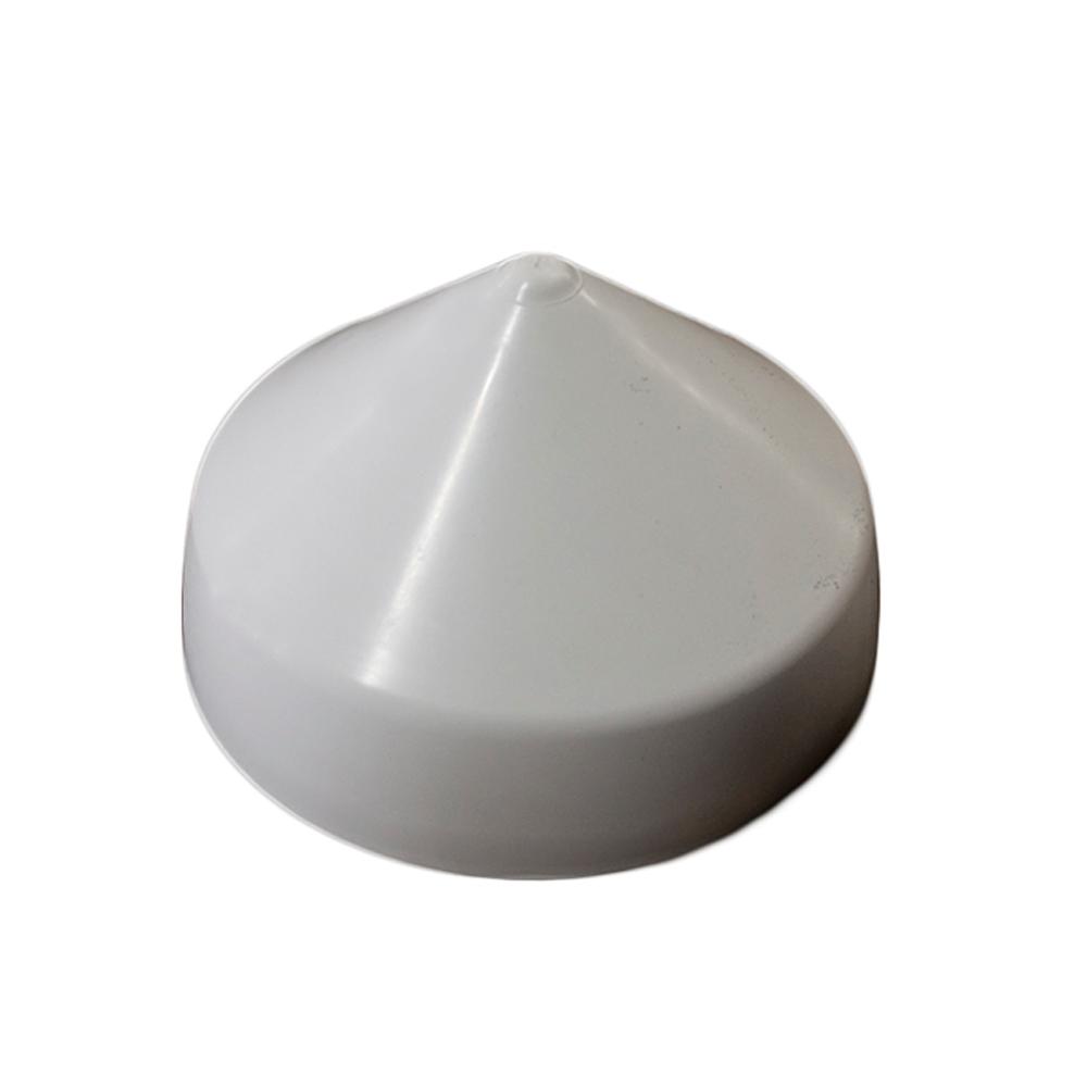 Monarch White Cone Piling Cap - 10