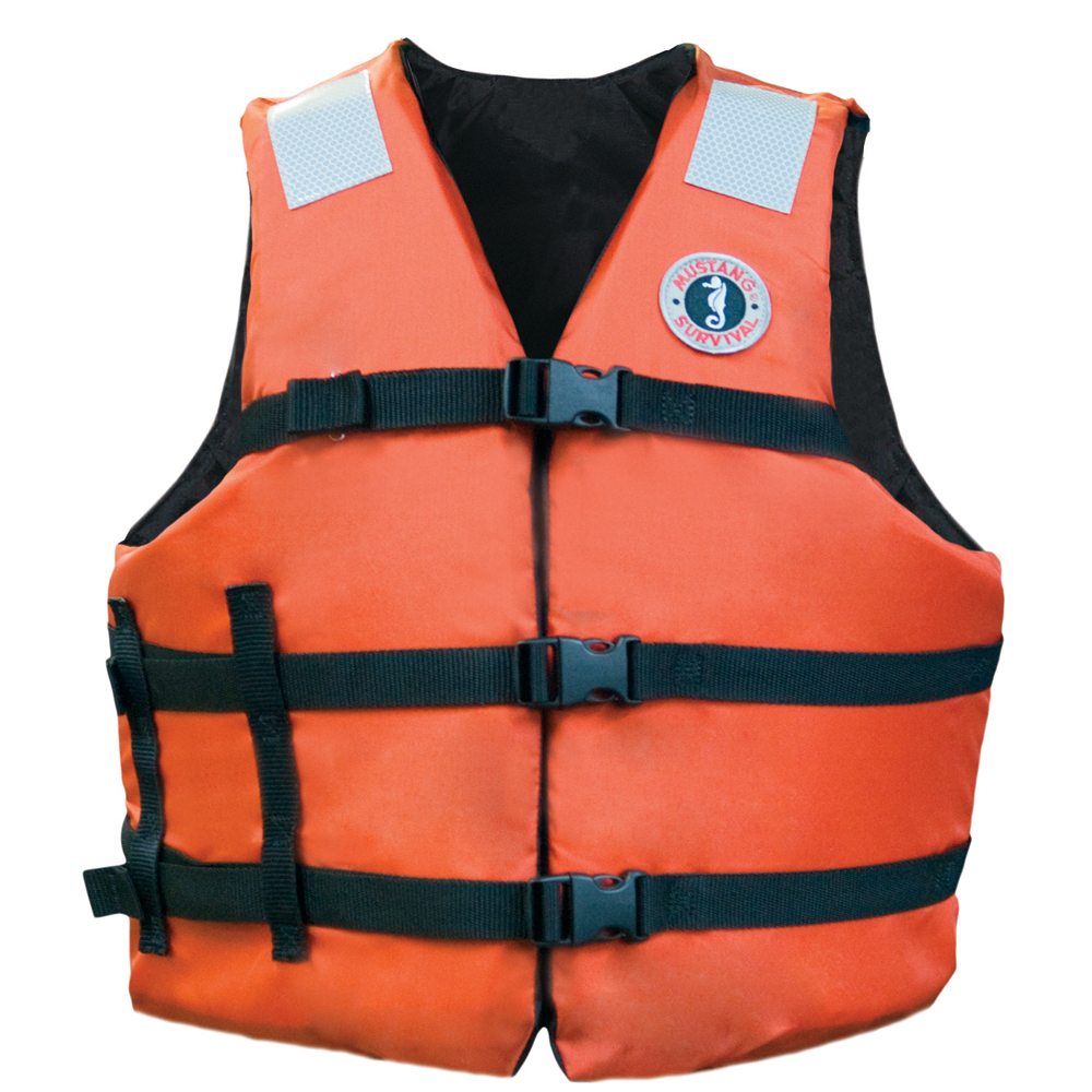 Mustang Adult Universal Fit Industrial Flotation Vest - 30