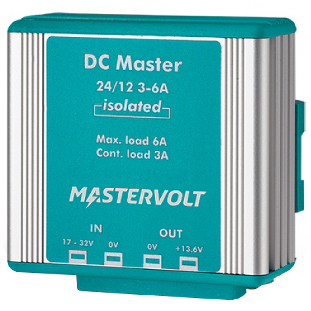 Mastervolt DC Master 24V to 12V Converter - 3A w/Isolator