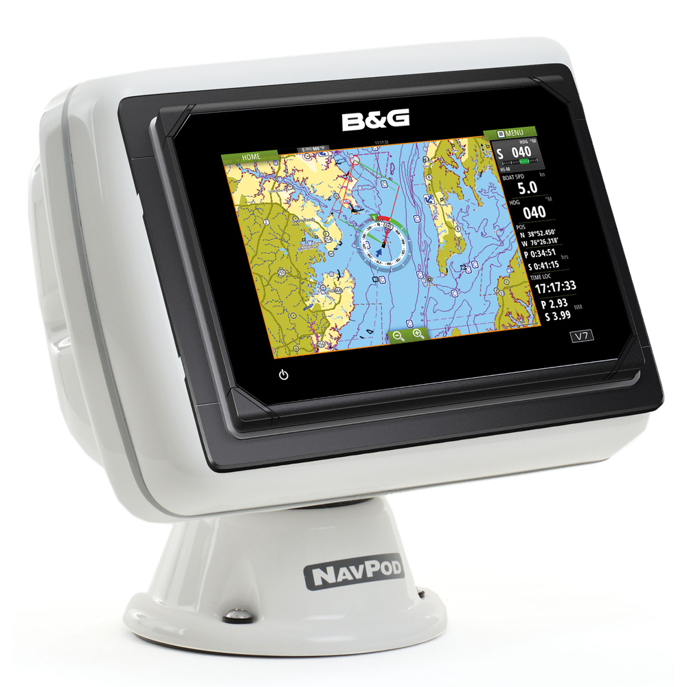 NavPod PP4408 PowerPod Pre-Cut f/Simrad GO7 and B&G Vulcan 7