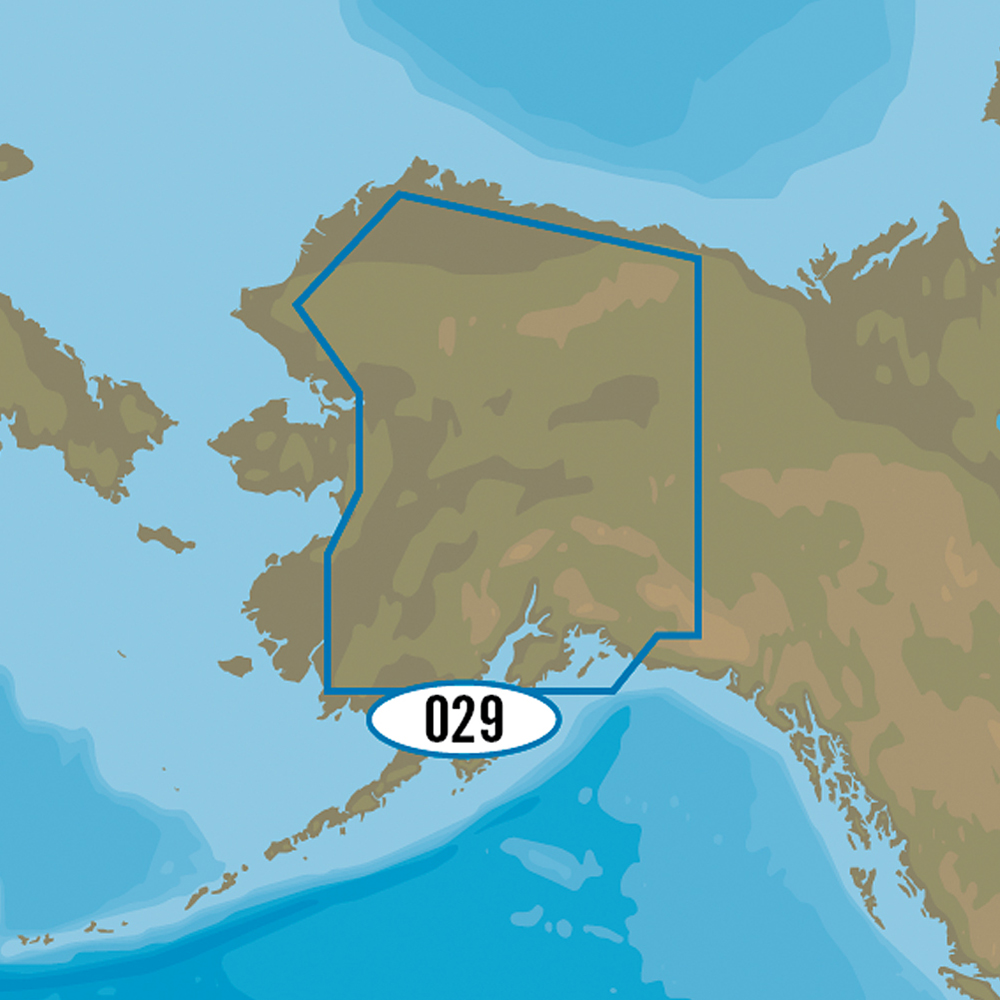 C-MAP MAX-N+ NA-Y029 - Alaskan Lakes