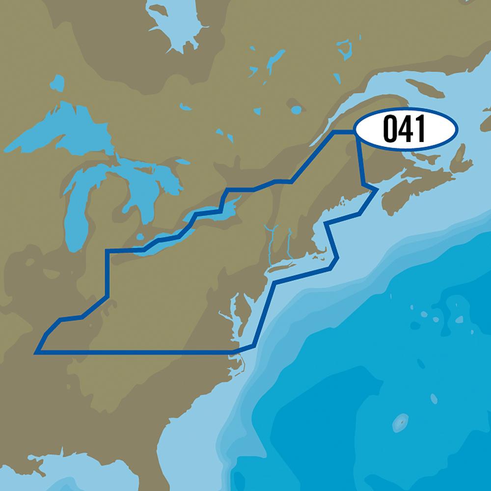 C-MAP MAX-N+ NA-Y041 - US Northeast Lakes