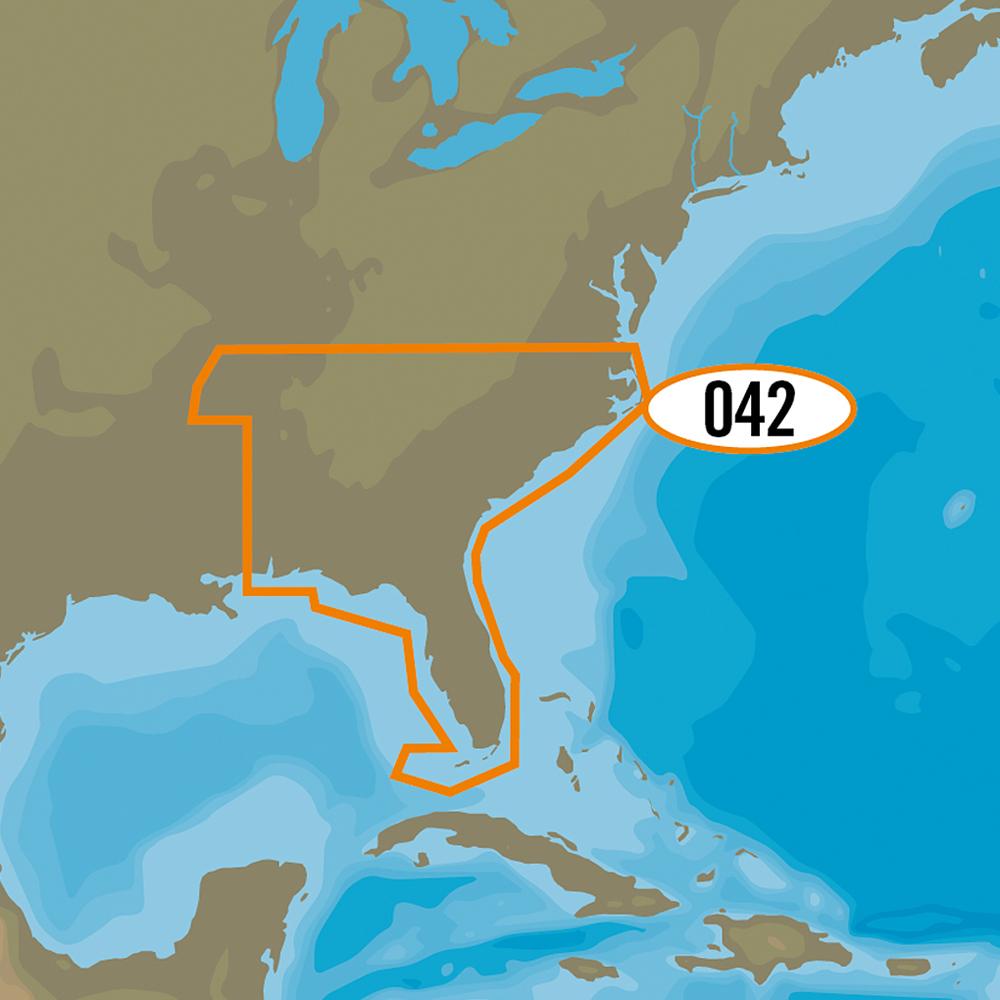 C-MAP MAX-N+ NA-Y042 - US Southeast Lakes
