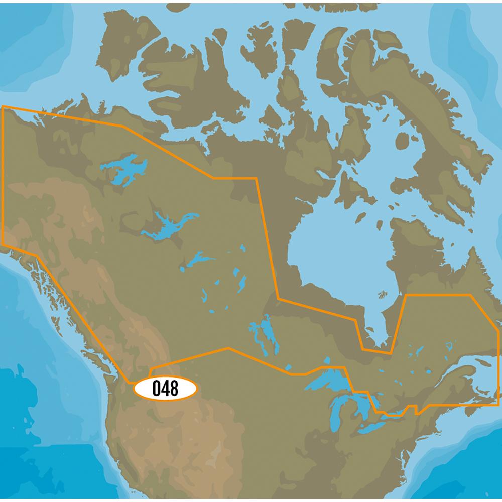 C-MAP MAX-N+ NA-Y048 - Canadian Lakes
