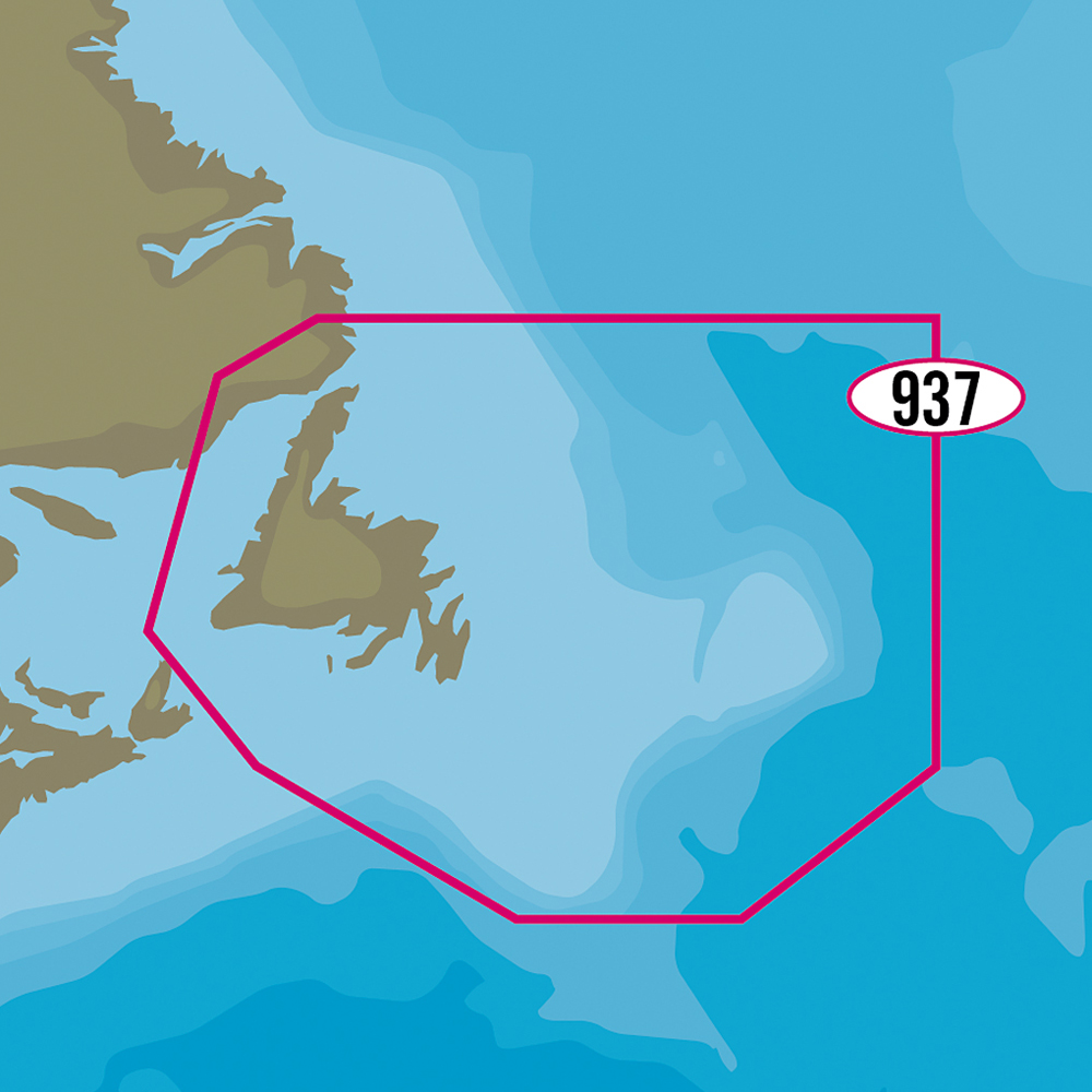 C-MAP MAX-N+ NA-Y937 - Newfoundland
