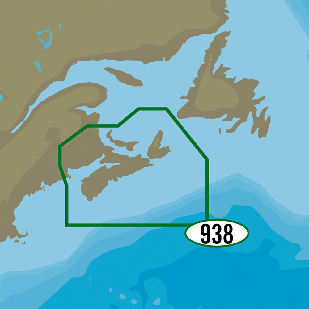 C-MAP MAX-N+ NA-Y938 - Fundy, Nova Scotia, Pei & Cape Breton