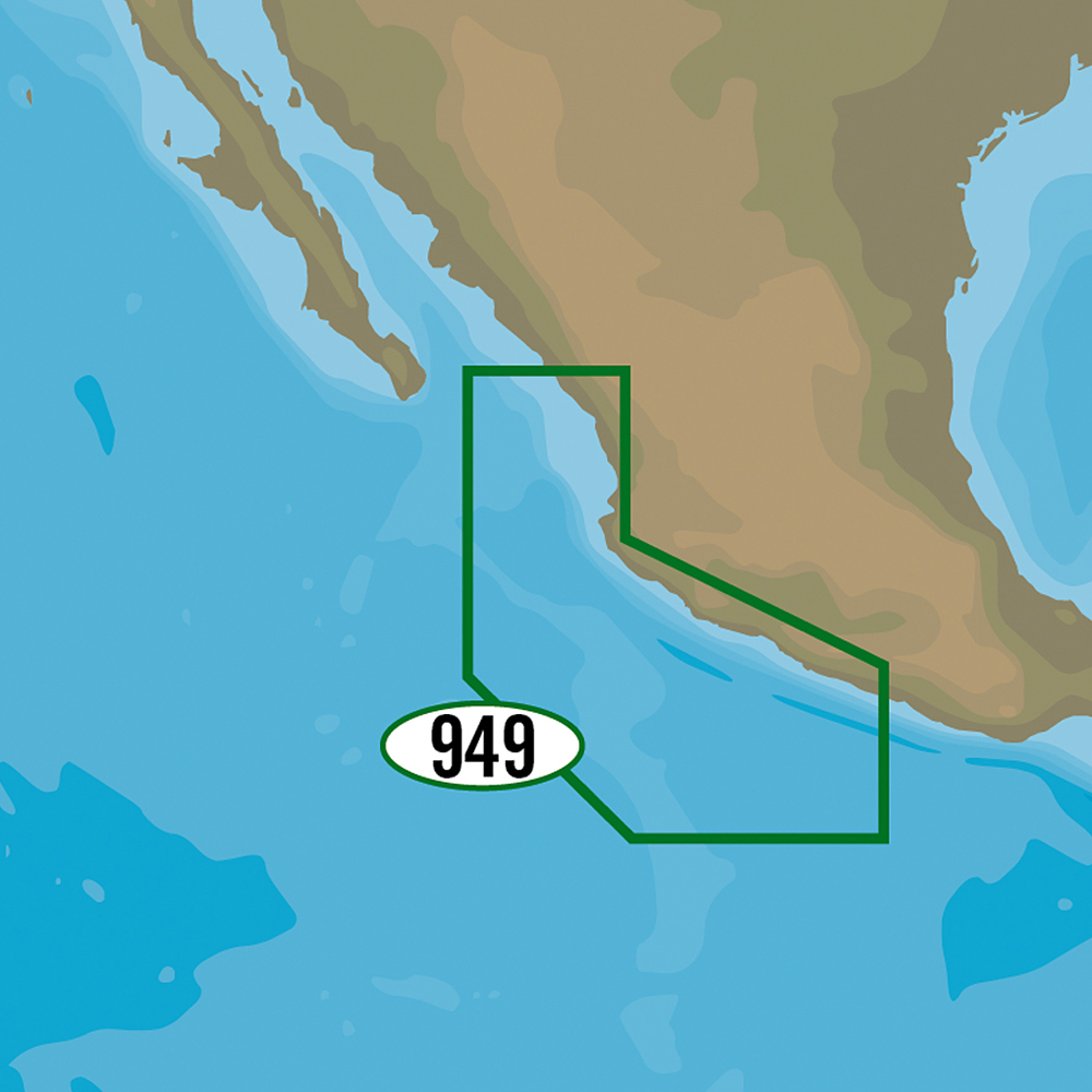 C-MAP MAX-N+ NA-Y949 - Acapulco, MX to Mazatlan, MX